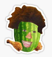 Watermelon TriHard - Twitch Emote Sticker