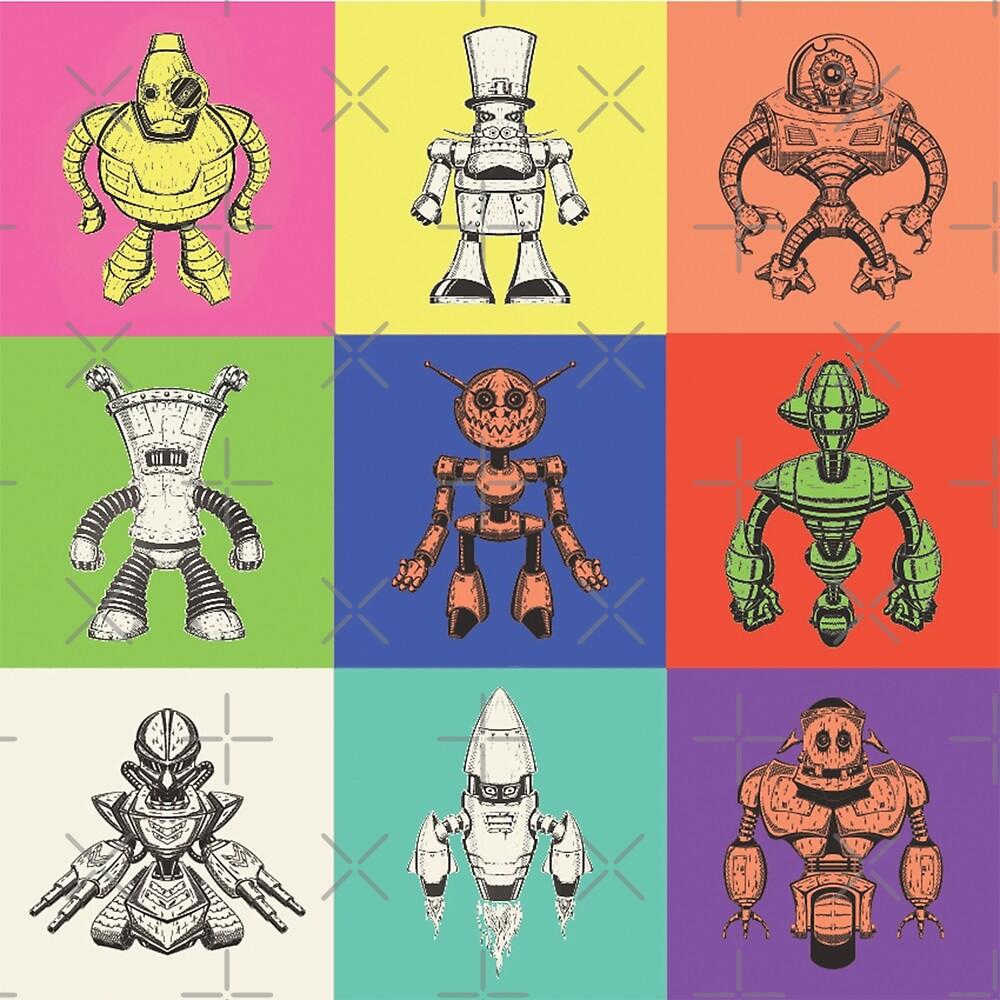 Color Robots by Vesaints
