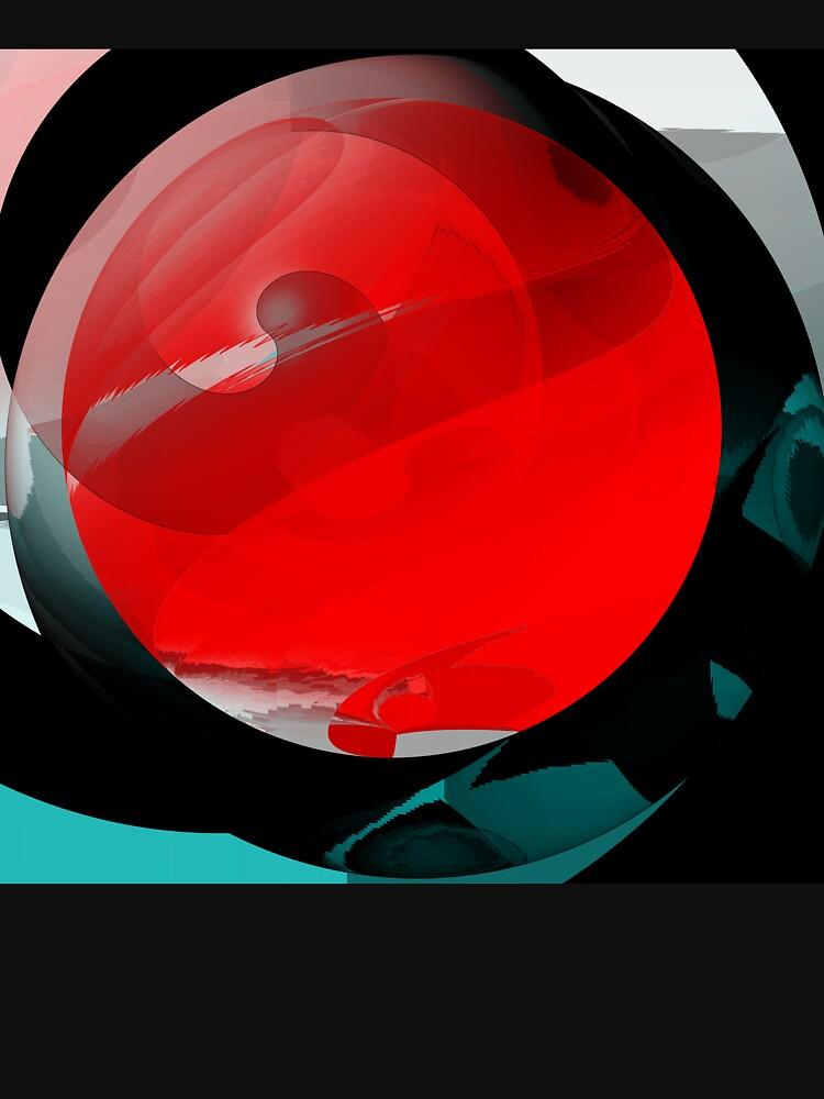 A red globe by TiiaVissak