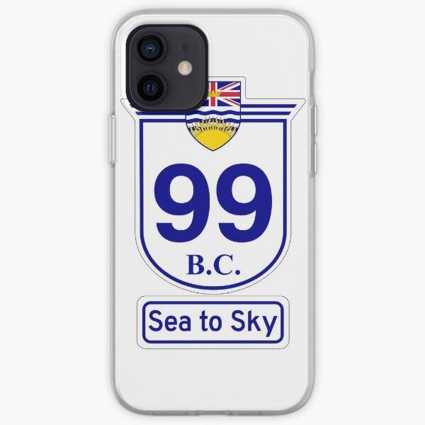 British Columbia 99 - Sea to Sky iPhone Soft Case