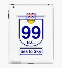 British Columbia 99 - Sea to Sky iPad Case/Skin