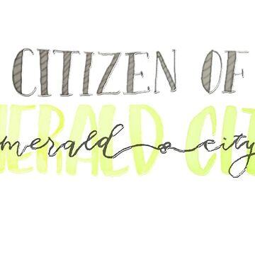 citizen of emerald city by Alyssaromee