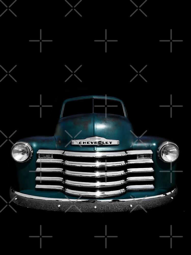Chevy 3100 - schwarz von mal-photography
