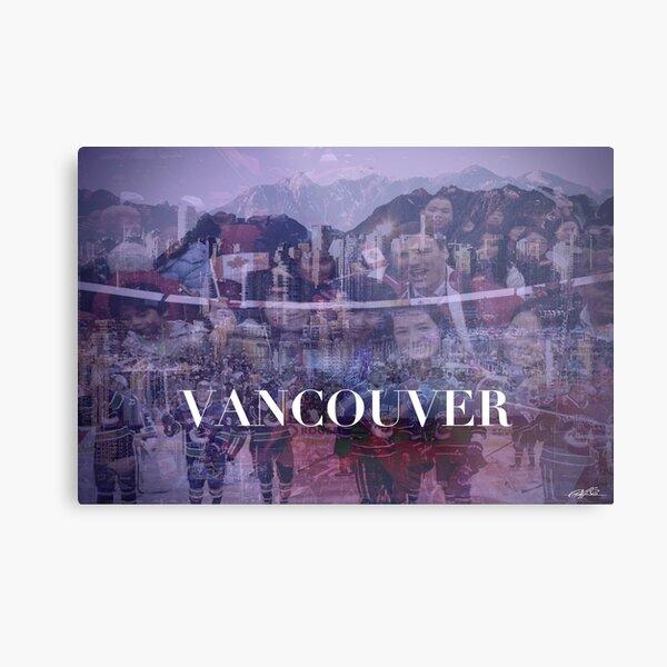 Vancouver collage Metal Print