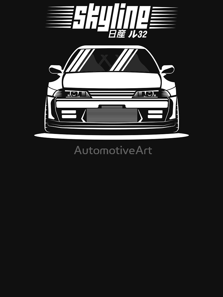 Nissan Skyline R32 by AutomotiveArt