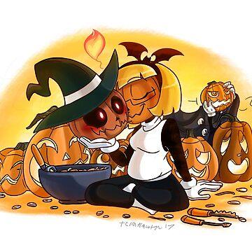 Pumpkin Heads by TerraTerraCotta