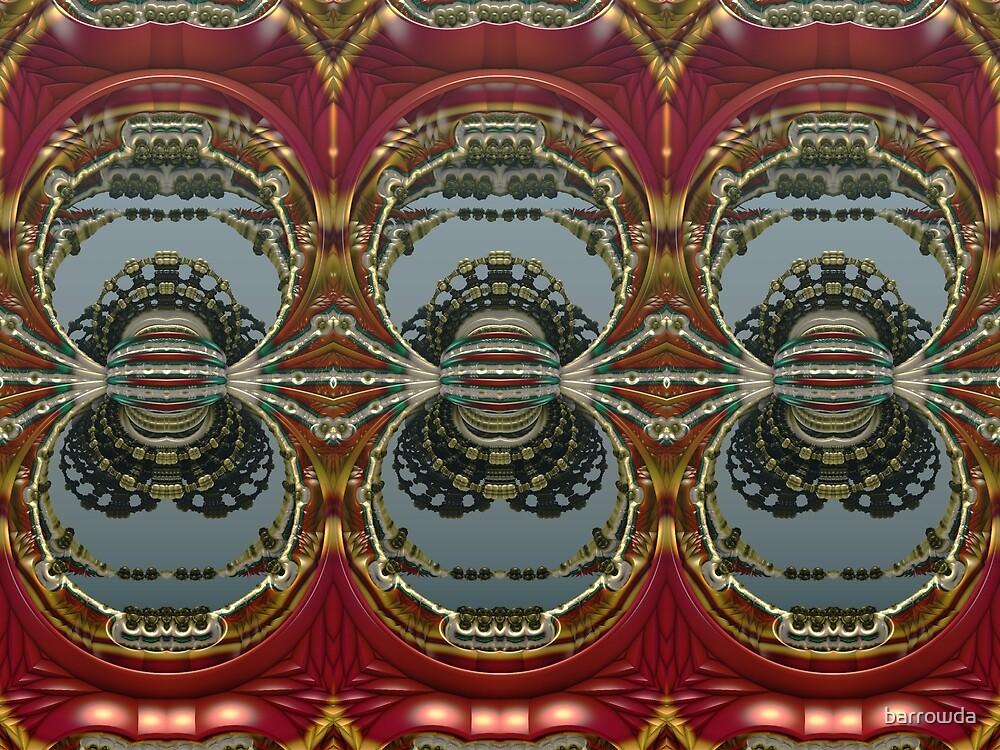 Ruby Triptych by barrowda