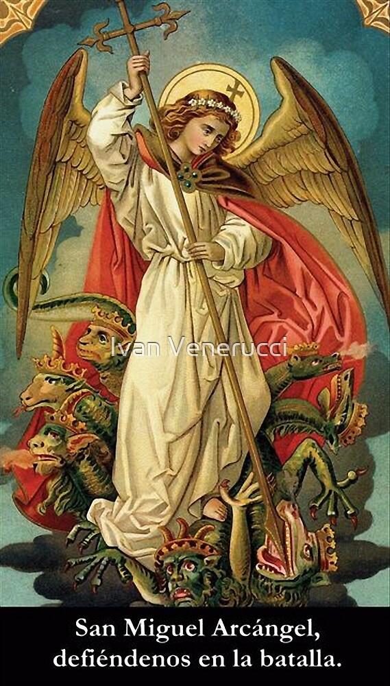 ST. MICHAEL ARCHANGEL by Ivan Venerucci