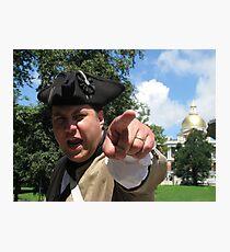Patriot Photographic Print