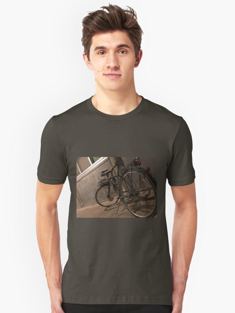 Artsy Bike Unisex T-Shirt Front