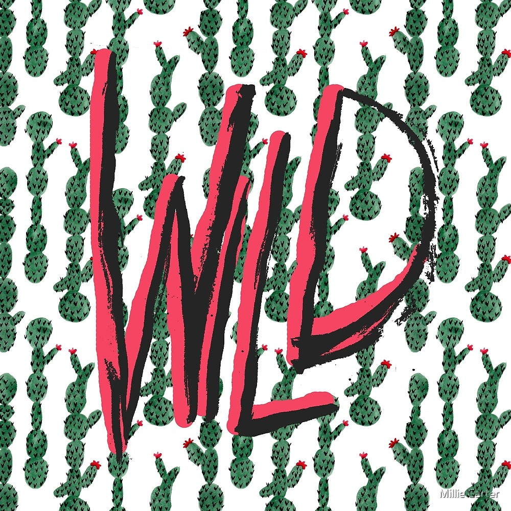 Cacti City by Millie Carter