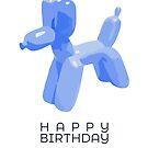 Balloon Dog by whatsandramakes