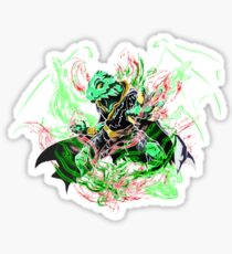 Roleplay Art- Ideo the Dragonborn Sticker