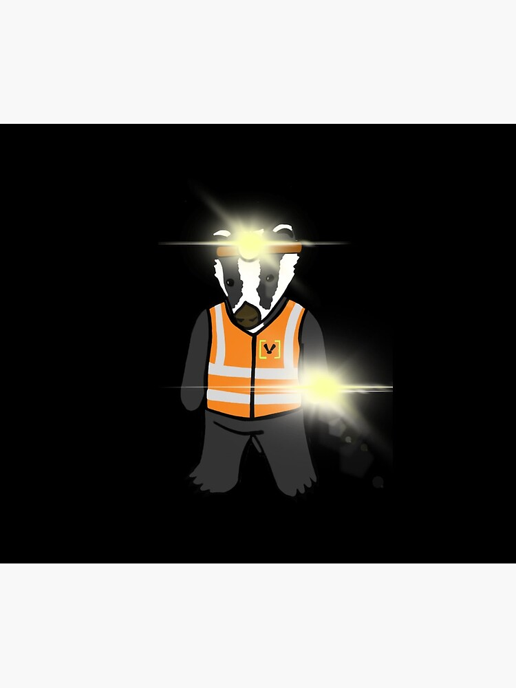 Lumen the Badger by BadgerPatrol