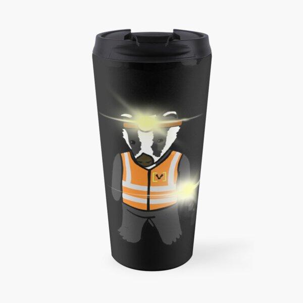 Lumen the Badger Travel Mug