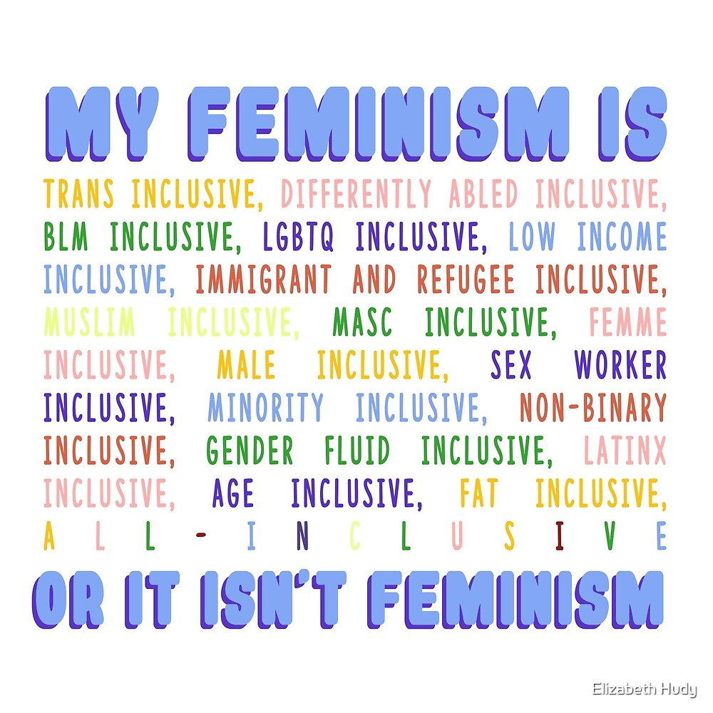 My Feminism Is... by Elizabeth Hudy