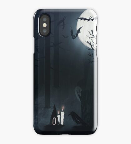 Once upon a foggy night iPhone Case