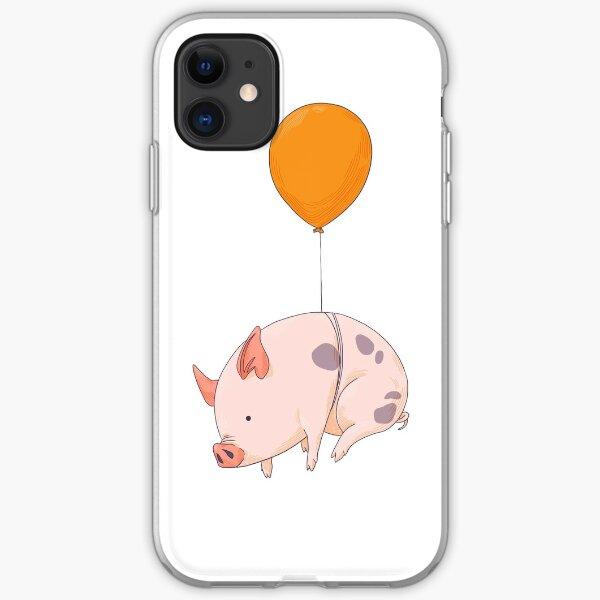 Wenn Schweine fliegen iPhone Flexible Hülle