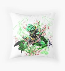 Roleplay Art- Ideo the Dragonborn Floor Pillow