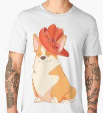 Queen Corgi Men's Premium T-Shirt