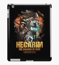 League of Legends HECARIM - The Shadow Of War iPad Case/Skin
