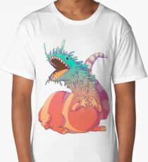 Rainbow Dragon Long T-Shirt