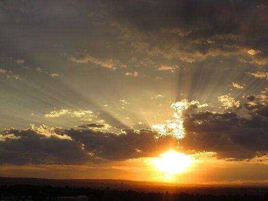 Summer Sunset by tuckalucky