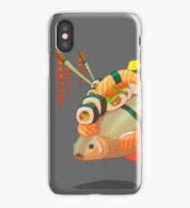 Distressed sushi  iPhone Case/Skin