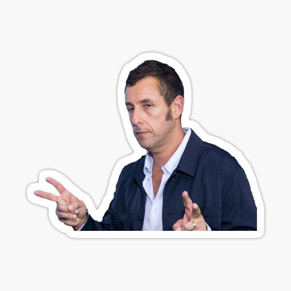 Adam sandler sad peace signs Sticker