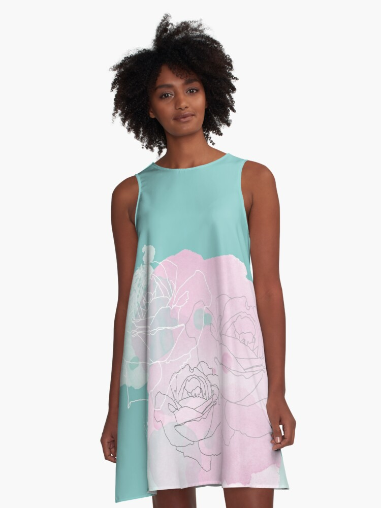 Kiss from a Rose A-Line Dress Front