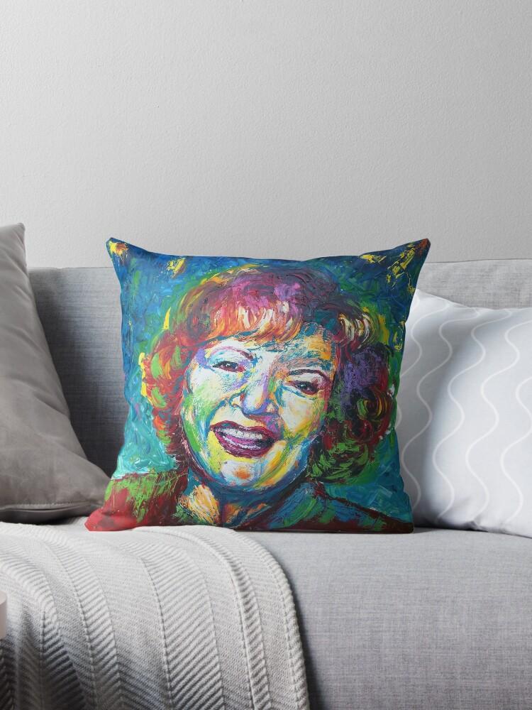 Stay Golden - Betty White in Full Color by fugitiverabbit