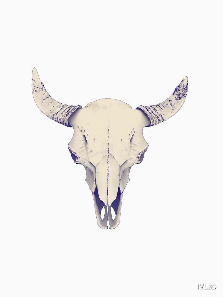 American Bison Skull by IVL3D