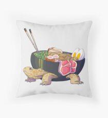 Ramen Tortoise  Throw Pillow