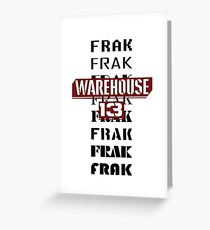 Frak Frak Frak Frak Frak Greeting Card