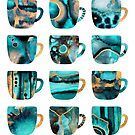 My Favorite Coffee Cups by Elisabeth Fredriksson
