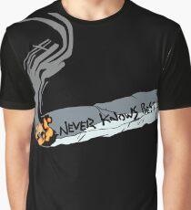 FLCL - Never Knows Best Cigarette 2 Graphic T-Shirt