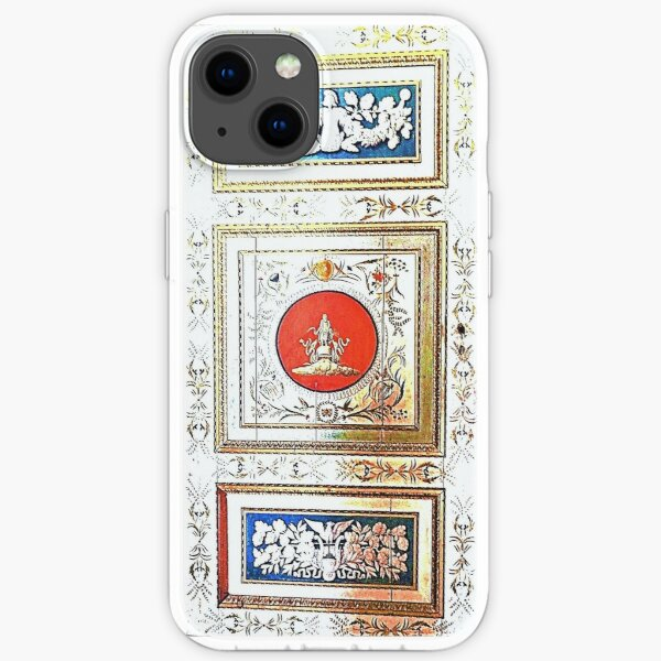 Palazzo Ducale painted door iPhone Soft Case