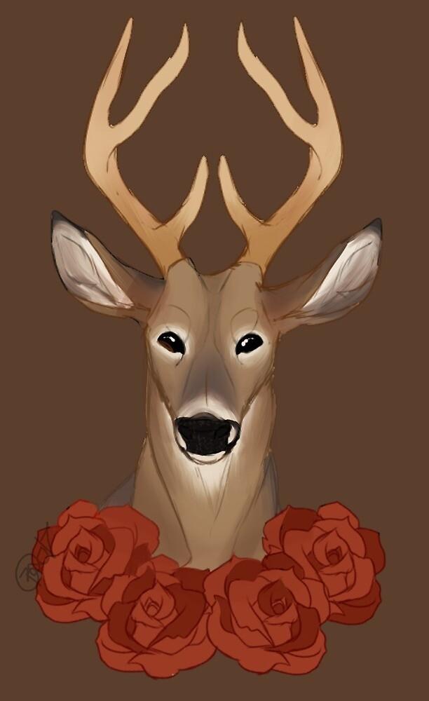 Rose Deer MERCH by phuckerrss