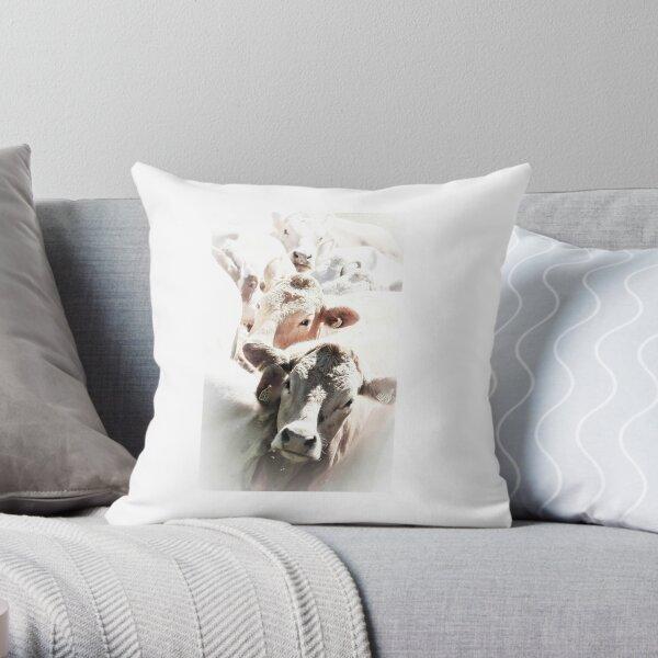 Cow parade Throw Pillow