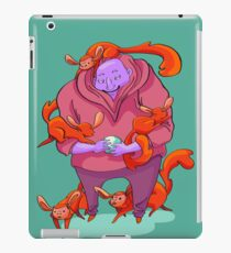 The purple man iPad Case/Skin