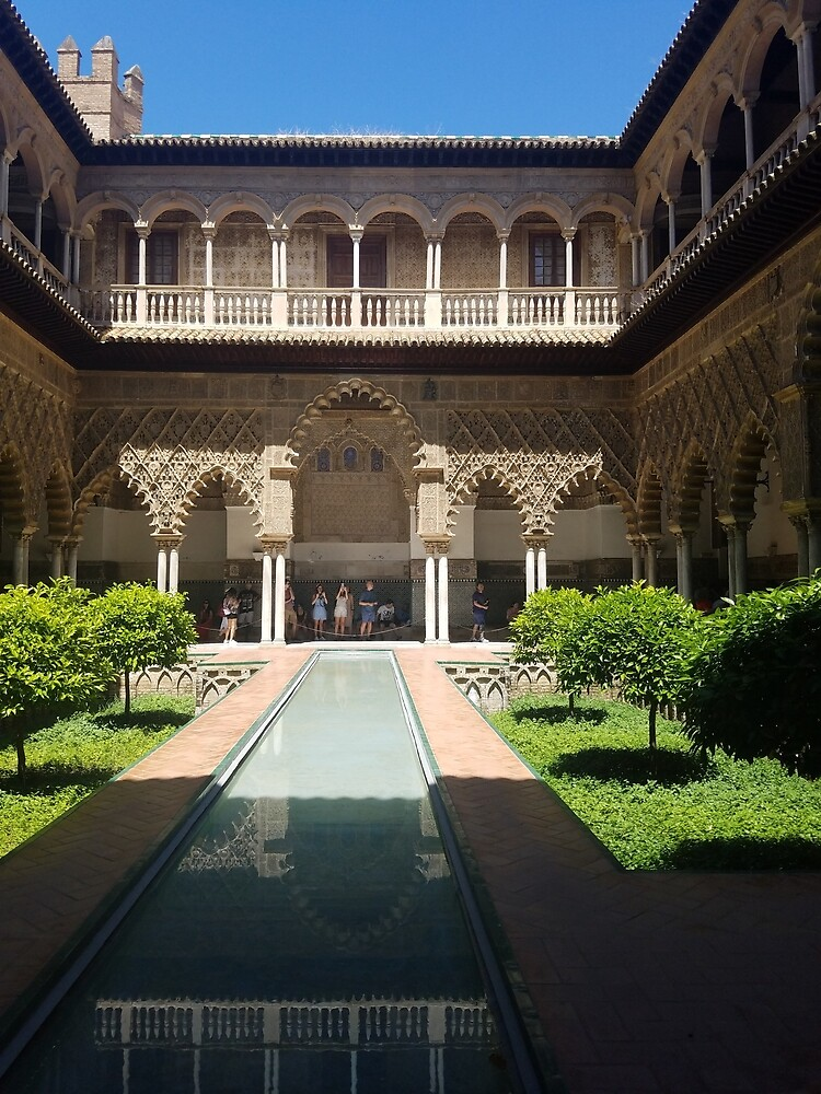 Fountain and Gardens, Alhambra by SarahGL