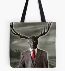 Stag Man Tote Bag