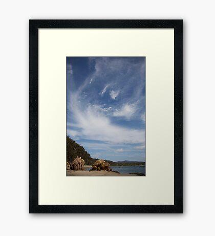 eden sky Framed Print