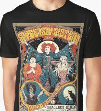 Sanderson Sisters Vintage Tour Poster Graphic T-Shirt
