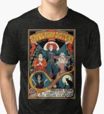 Sanderson Sisters Vintage Tour Poster Tri-blend T-Shirt