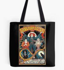 Sanderson Sisters Vintage Tour Poster Tote Bag