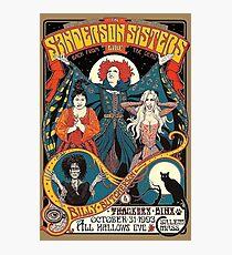 Sanderson Sisters Vintage Tour Poster Photographic Print
