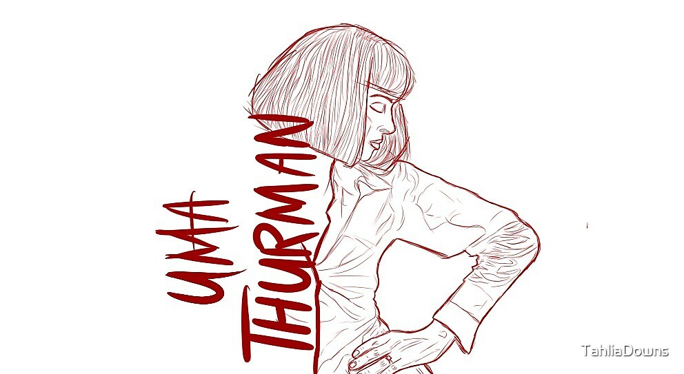 Uma Thurman - Pulp Fiction by TahliaDowns