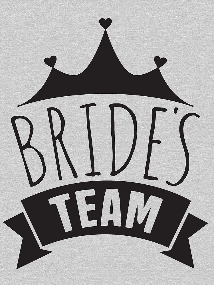 Brides Team Wedding Bridesmaids, Bachelorette Party, Bridal Shower by LoveAndSerenity