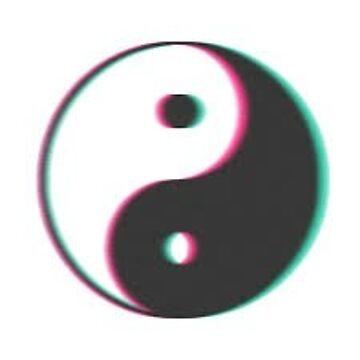ying yang T-shirt by AlexFernandez05